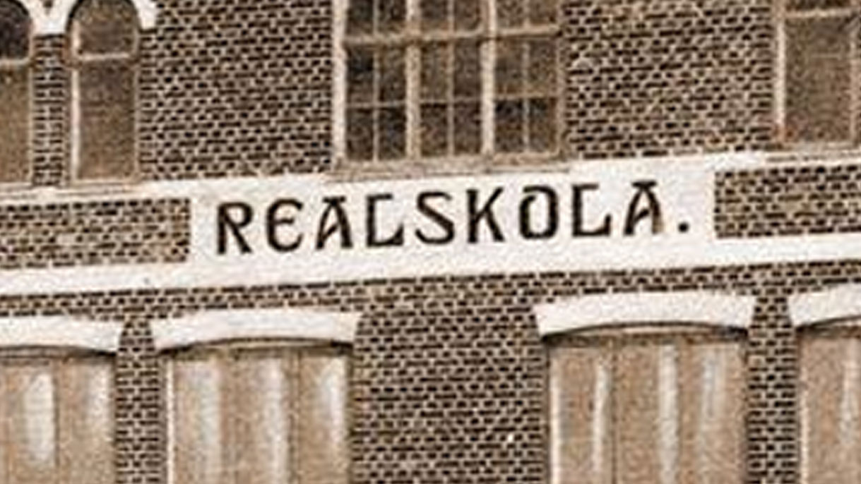 Realskola text